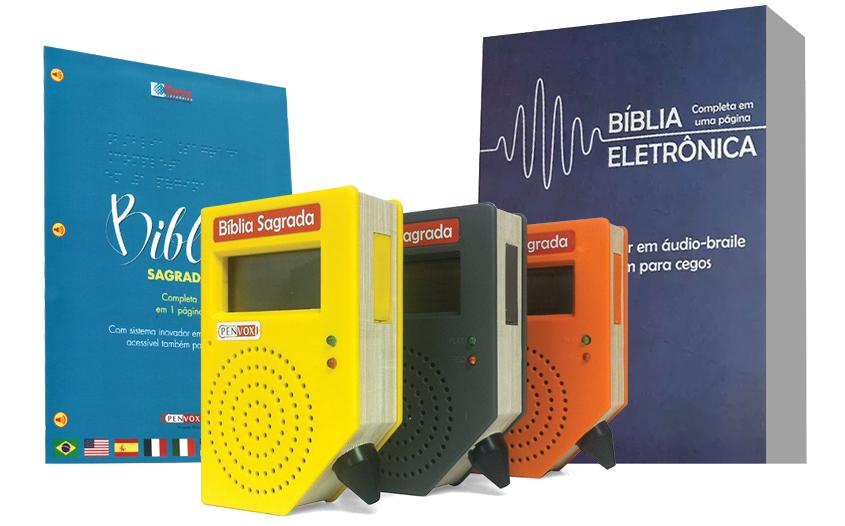 Bíblia Eletrônica em áudio braile
